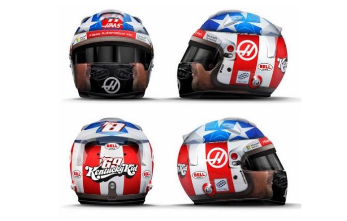 Capacete de Romain Grosjean