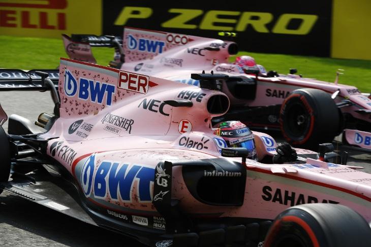 Sergio Perez e Esteban Ocon
