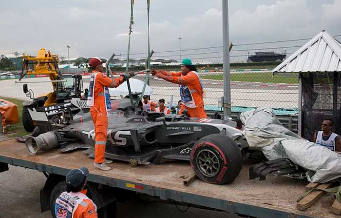 Carro de Romain Grosjean