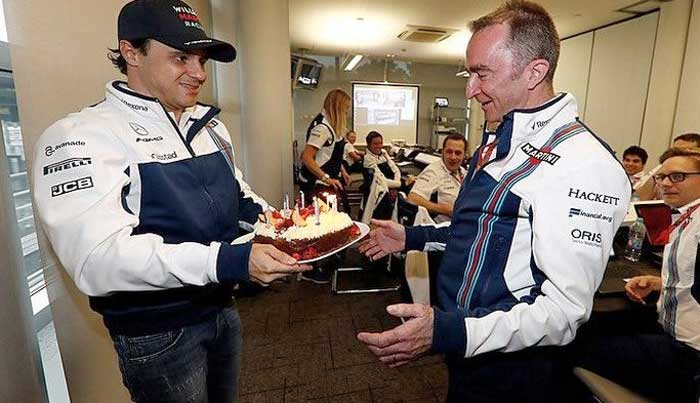Felipe Massa e Paddy Lowe