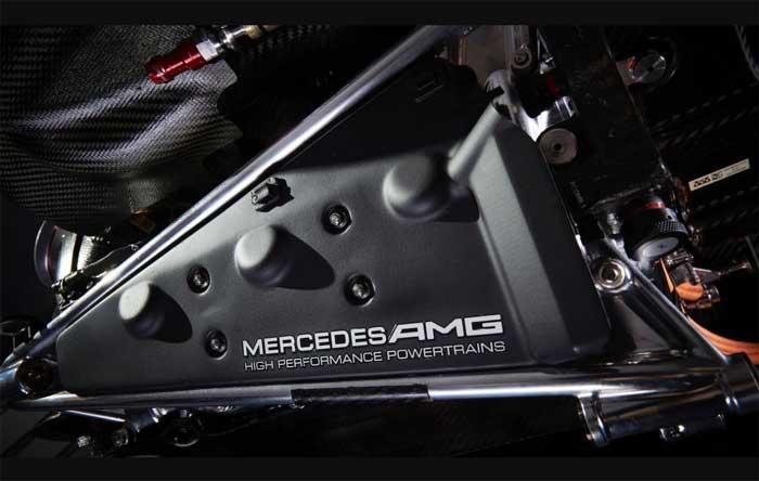 Motor Mercedes 2017
