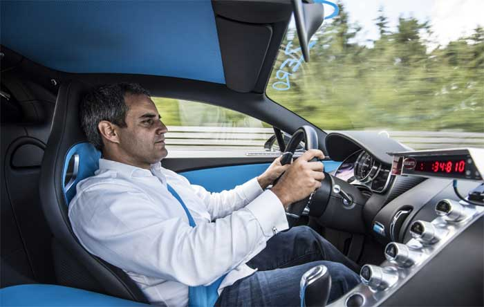 Juan Pablo Montoya - Bugatti Chiron