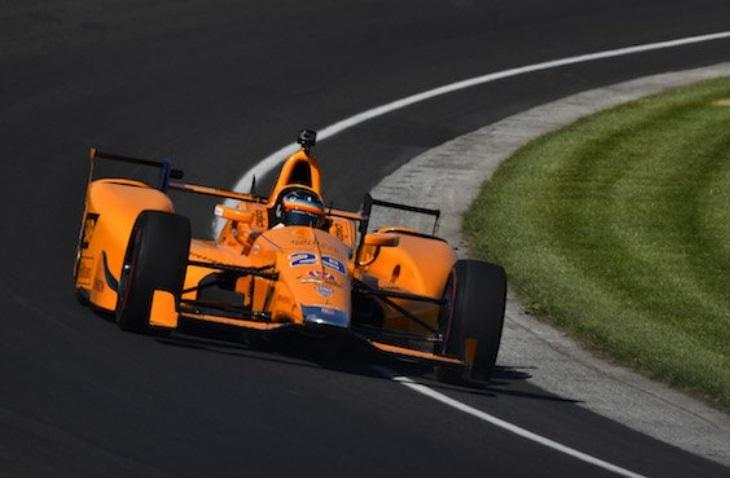 Circuito Barber : Alonso vai testar hoje o carro da indy no circuito de barber