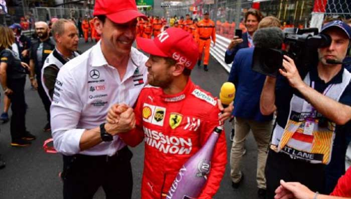 F1 – Wolff sugere que vaga na Mercedes é improvável para Vettel