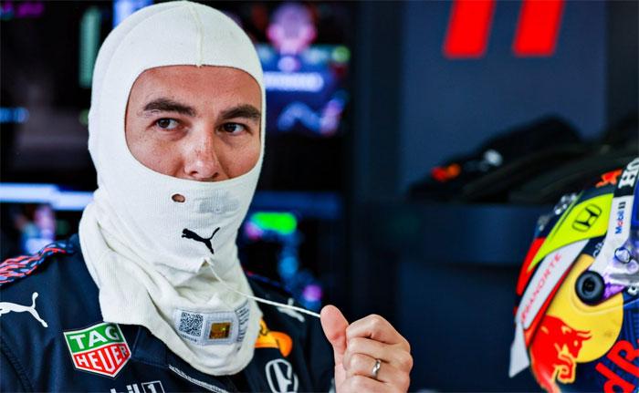F1 perez monaco 2021 balaclava sabado Vision Art NEWS