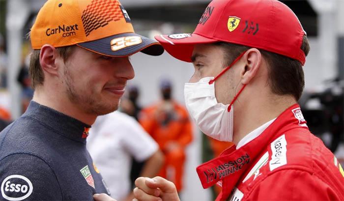 Leclerc: Verstappen está pronto para ser campeão